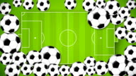 Multi soccer ball video