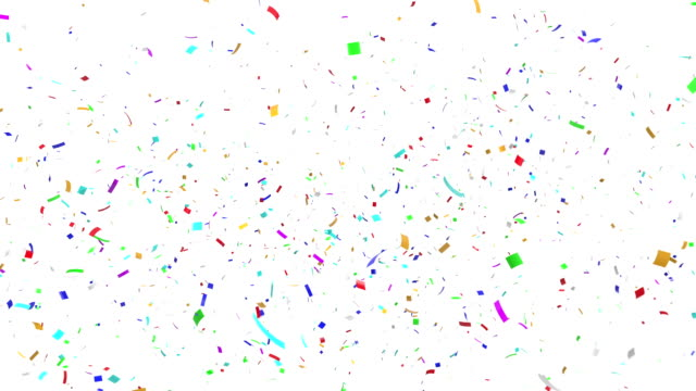 Multicolor Confetti Explosion video