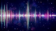 multicolor digital equalizer loop video