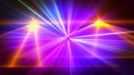 Multicolor laser show background video