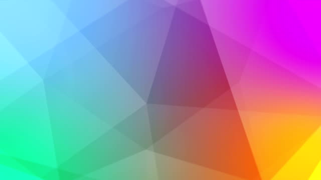 Multicolored abstract background animation video