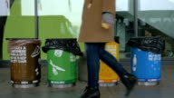 Multicolored Containers for Separate Waste Collection video