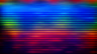 multicolored flashing lines loopable background video