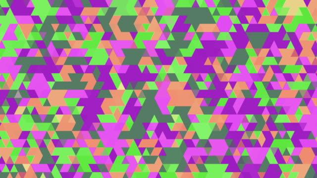 Multicoloured Triangles video