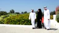 PANNING: Multi-generation Emirati family at the park video