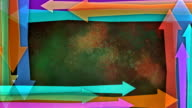 Multiple versions (2) Colorful Copy Spaces made from Arrows video