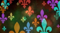 Multiple versions (3) Colorful Fleurs de Lys from Coat of arms, Flags and History video