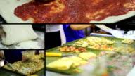 Multiscreen - Making Pizza video