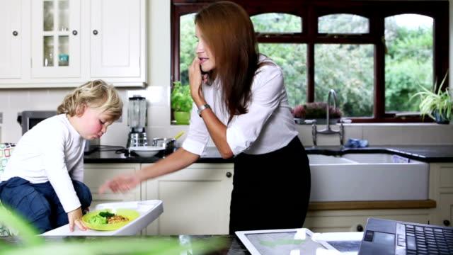 Multitasking Business Mum Homeworker video