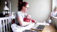 Multi-Tasking Mum video