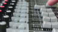 Multitrack Recording using a mixing desk video
