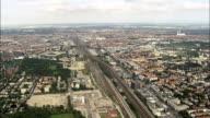 Munich - Aerial View - Bavaria,  Upper Bavaria,  Munich,  Urban District helicopter filming,  aerial video,  cineflex,  establishing shot,  Germany video