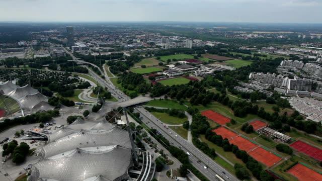 Munich cityscape video