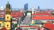 Munich Skyline video