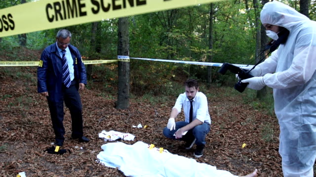 Murder investigation in the forest video
