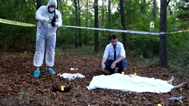 Murder scene in the wild video