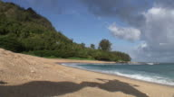 (HD1080i) Muscle Man, Shadow Pose on Beach video