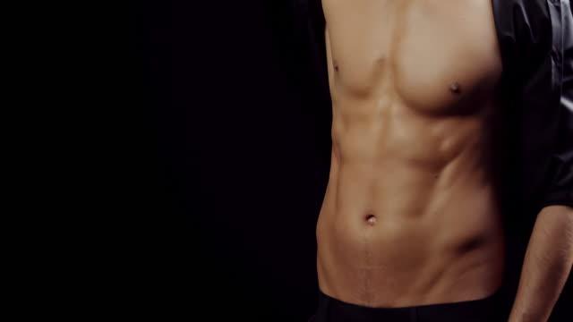 Muscular guy video