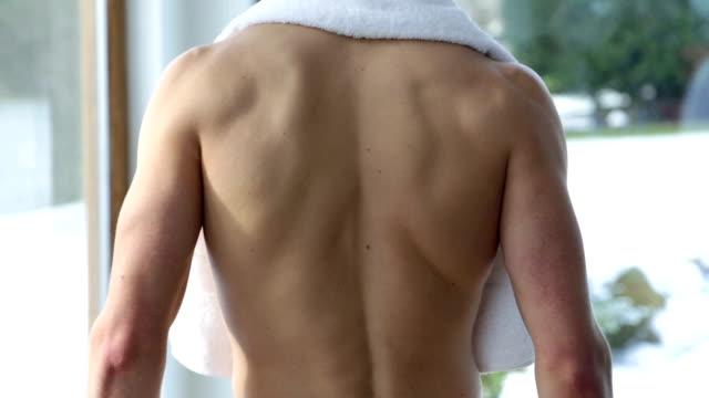 Muscular Man video