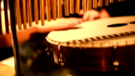Musician Playing Percussion video