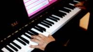 Musician Playing Piano video