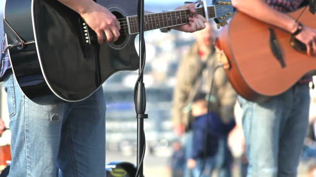 Musicians in concert video