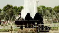 muslim women covered with veil video