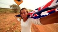 My Australian selfie video