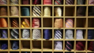 My collection of ties video