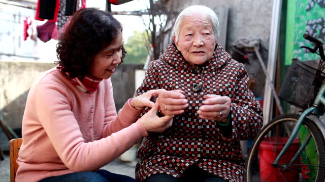 My mother and grandmother video