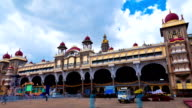 Mysore. The main palace complex. time-lapse. video