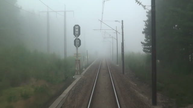 Mysterious railroad journey video