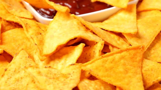 Nacho chips video