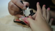 nail painting spa video