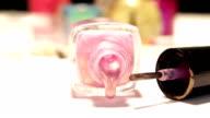 Nail Polish Pink video