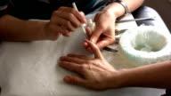 Nail polish video