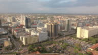 Nairobi city - skyline pan video
