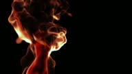 Naked Woman Burning In Flames video