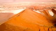 AERIAL Namibian Desert video