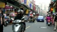 Nanshijiao night market in Taiwan video