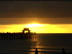 Naples Pier Sunset NTSC video