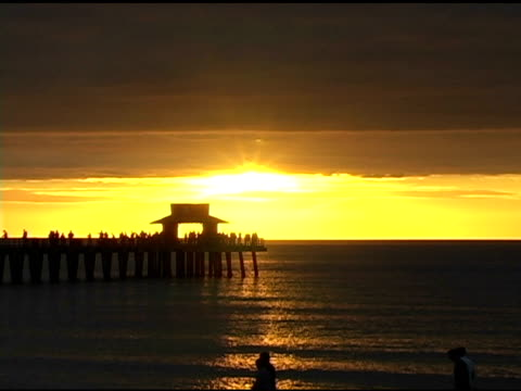 Naples Pier Sunset NTSC video