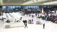 Narita International Airport Terminal video