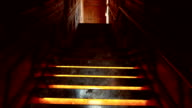Narrow Hotel Staircase video
