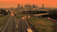 Nashville Time lapse Warm video