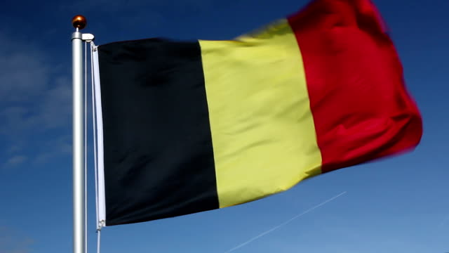 National flag of Belgium video