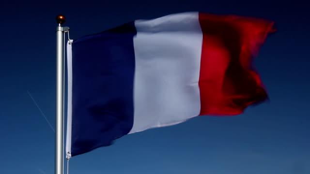 National flag of France video