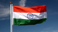 National flag of India video
