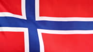 National flag of Norway video