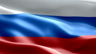 National flag Russia wave Pattern loopable Elements video